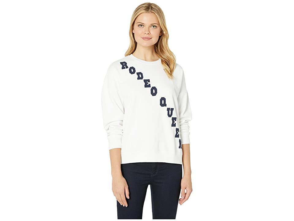 Lucky Brand Rodeo Queen Sweatshirt (Lucky White) Women