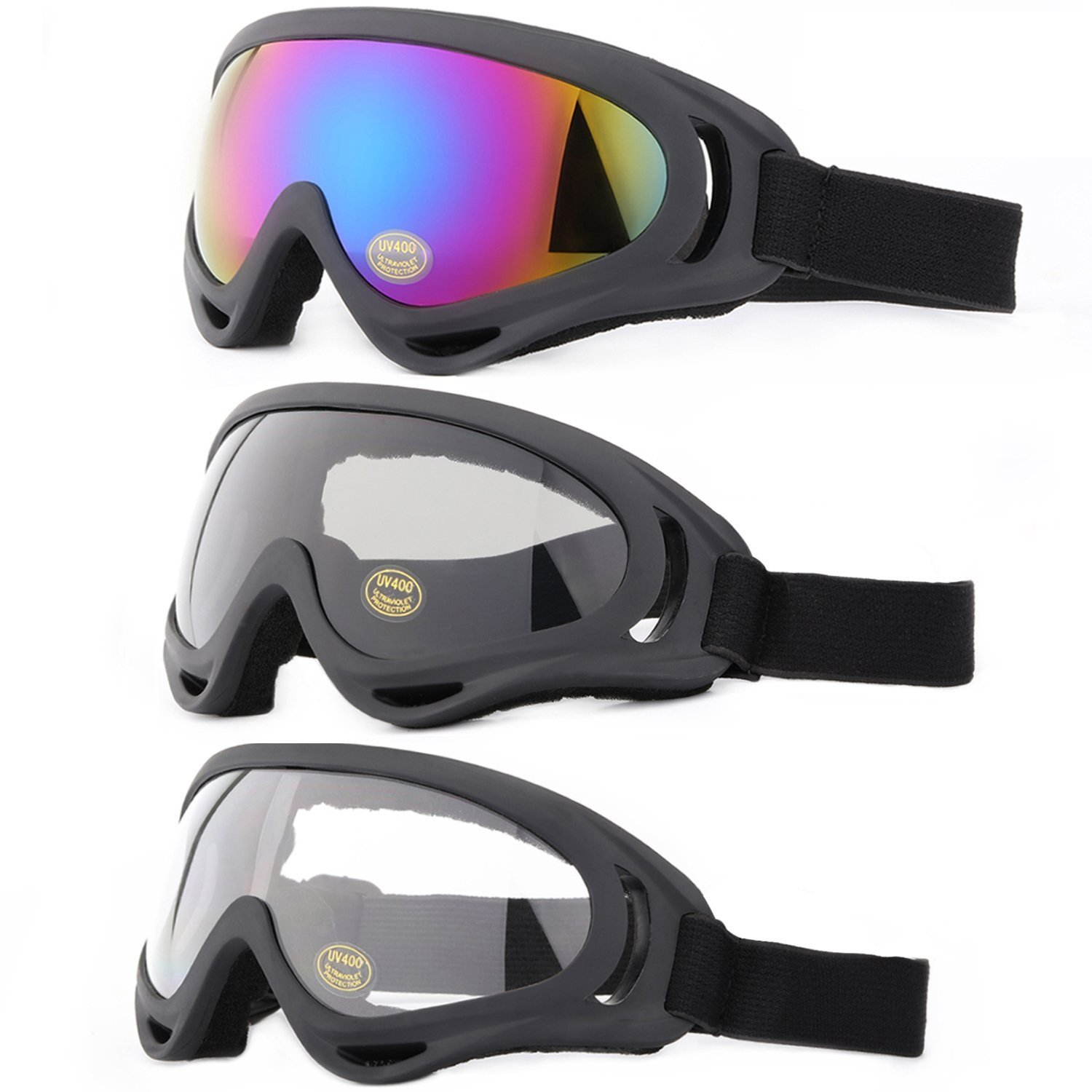 Yidomto Snowboard Protection multicolor Transparent