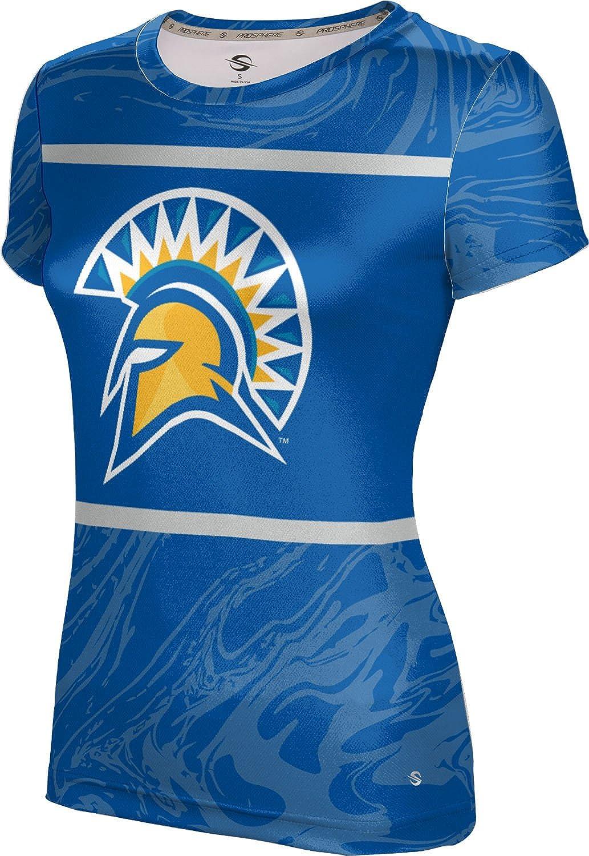 ProSphere San Jose State University Girls' Performance T-Shirt (Ripple)