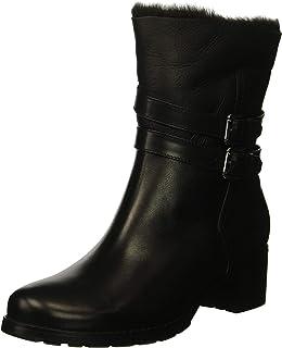 Blondo Women's Fabiana Fashion Boot, black leather, 6 W US