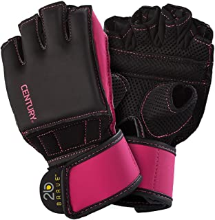 Century Women's Brave Grip Bar Bag Gloves Black/Pink