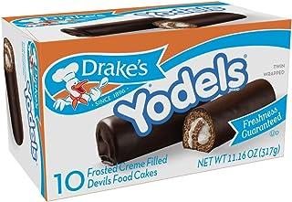 Drake's Yodels Devil's Food Cakes, 11 oz, 10 Count