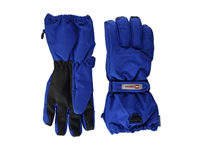 LEGO Kids Snow Gloves with Thinsulate Insulation (Little Kids/Big Kids) (Blue) Over-Mits Gloves