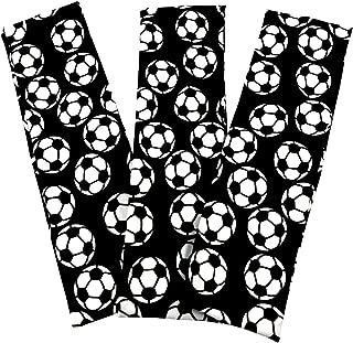 Soccer Stretch Headbands - (3 Pack) for Women, Teens, Kids - 2.25