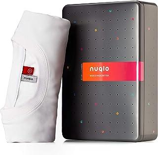 Nuqlo Felpa Uomo   Cotone Premium   Tessuto Interno in Fleece Light™   Cuciture Nastrate   Maniche Lunghe   Polsini a Cost...