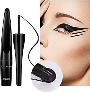 1 PC Long-lasting Waterproof New Black Charming Eyeliner Roller Design Eyeliner Liquid Eyeliner Waterproof No Blooming