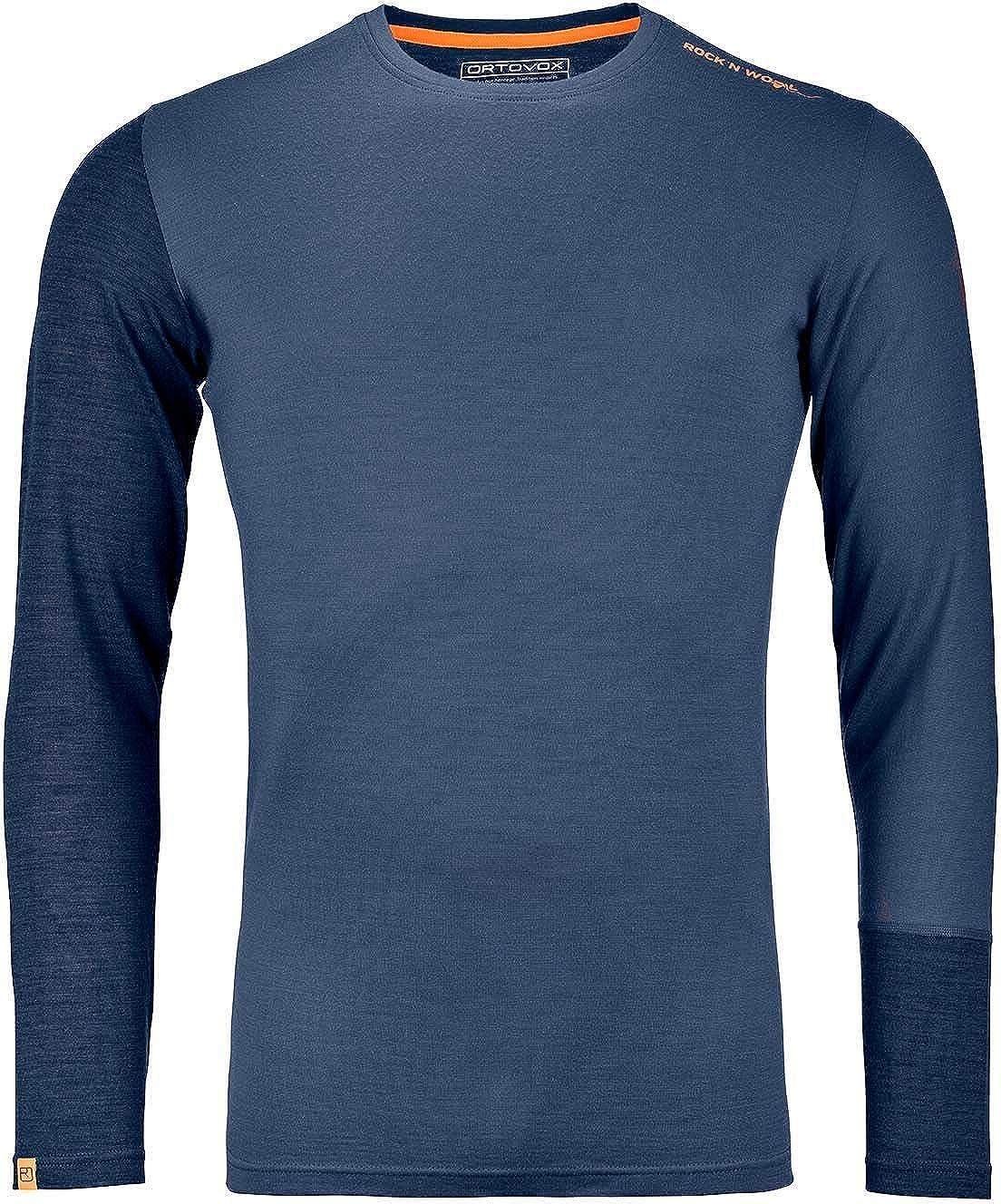 Ortovox 185 Rock'n'Wool Long-Sleeve Men's Top 5 ☆ very popular Selling and selling -
