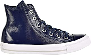 Converse Womens Chuck Taylor All Star Hi Midnight Navy Leather Trainers 8 US