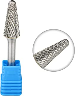 14° Cone Radius End 1//4 x 3//8 x 1 1//16 x 2 15 SL-3 Single Cut Carbide Burr