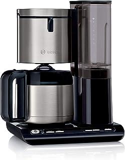 Bosch TKA8A683 Styline Cafetière à filtre avec verseuse isotherme, réglage automatique du temps de percolation, réservoir ...