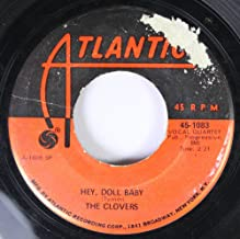 The Clovers 45 RPM Hey, Doll Baby / Devil or Angel