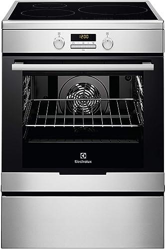 Electrolux - eki6771tox - Cuisinière électrique a 73l 3 foyers induction inox