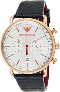 Emporio Armani Gents Wrist Watch, Blue