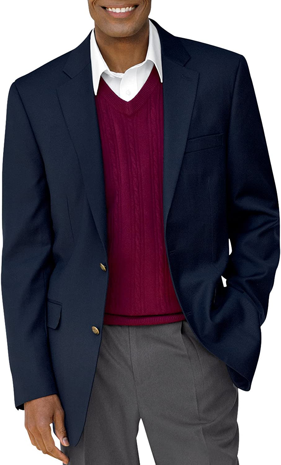 Gold Series by DXL Big and Tall Continuous Comfort Blazer