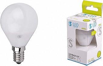 Mextronic LED-spots lamp 5W LED E14 kogel 3000K warm wit 400lm 230V AC