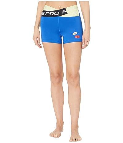 Nike Pro 3 Cool Shorts Icon Clash (Game Royal) Women