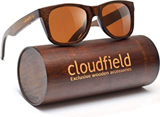 Wood Sunglasses Polarized for Men and Women - Bamboo...