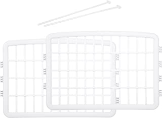 Amazonベーシック ケージ プラスチックパネル ペット用ケージ 延長用パネル2枚 61cm ホワイト