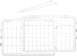 AmazonBasics - 2 paneles de ampliación para parque de plástico, blanco