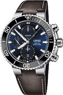 Oris Aquis Blue Dial Automatic Men's Chronograph Watch 01 774 7743 4155-07 5 24 10EB