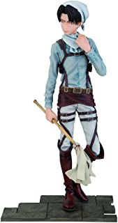 Attack on Titan Cleaning Levi PVC Figurine
