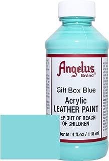 Angelus Acrylic Leather Paint-4oz.-Gift Box Blue