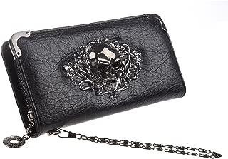 skull phone wallet