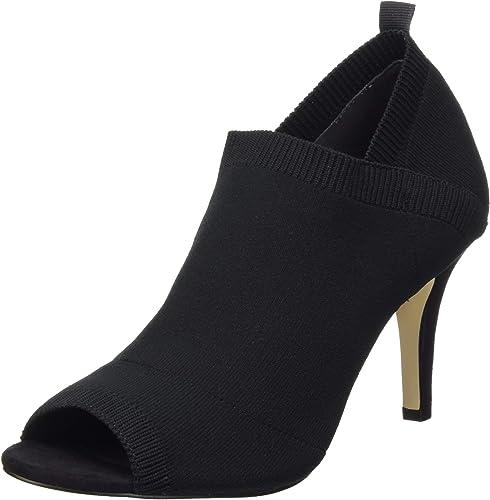 Tamaris 1-1-28060-32 001, zapatos de tacón con Punta Abierta para mujer