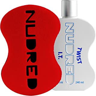 Twist I.T. SET | Daily Styling Moisturizer with RED Hair Sponge for Men/Women | The Original NUDRED Natural Hair Care System