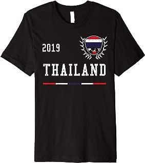 Thailand Football Jersey 2019 Thai Soccer T-shirt