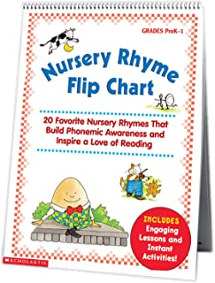 Nursery Rhyme Flip Chart: 20 Favorite Nursery Rhymes That Build Phonemic Awareness and Inspire a Love of Reading