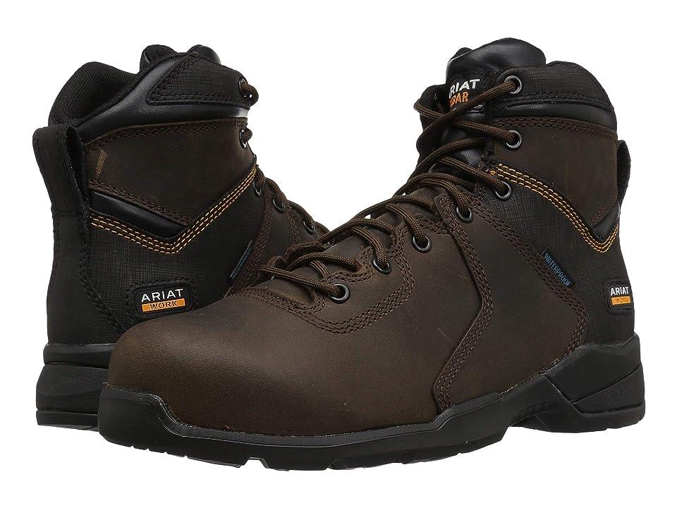 Ariat Rebar Flex Protect 6 H2O Comp Toe (Brown) Men