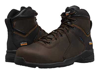 Ariat Rebar Flex Protect 6 Waterproof Composite Toe (Brown) Men