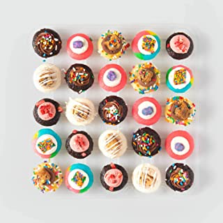 Baked by Melissa Cupcakes - Greatest of All Time Cupcakes - Assorted Flavors Bite-Size Limited Edition Mini Cupcakes (25 Cupcakes)