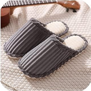 Feing home slippers Zapatillas de Interior con Nudo de Lazo, con Piel sintética, cálidas, para Mujer, Antideslizantes, Planas, para Interiores