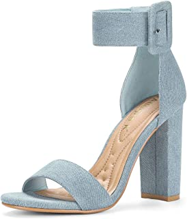 Best blue jean heels Reviews