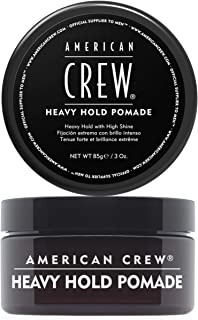 American Crew Heavy Hold Pomade, Black, 85 g