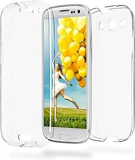 MoEx Funda Protectora 360º de Silicona Compatible con Samsung Galaxy S3 / S3 Neo | Transparente, Transparent