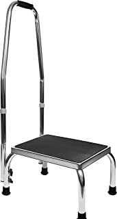 metal step stool with handle