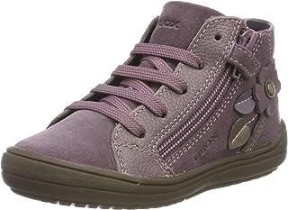 J Hadriel Girl A, Zapatos de niña Transpirable con Suela Protectora para Niñas
