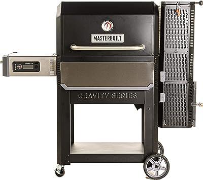 Masterbuilt MB20041220 Gravity Series 1050 Digital Charcoal Grill + Smoker, 202.9 lbs, Black