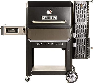 Masterbuilt MB20041220 Gravity Series 1050 Digital Charcoal Grill + Smoker, Black