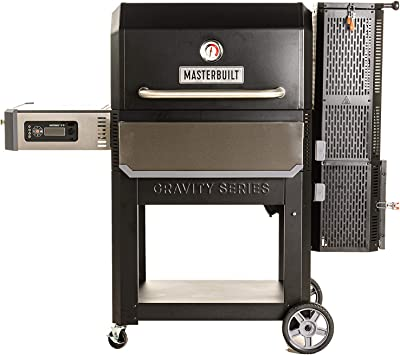 Masterbuilt MB20041220 Gravity Series 1050 Digital Charcoal Grill + Smoker, Black
