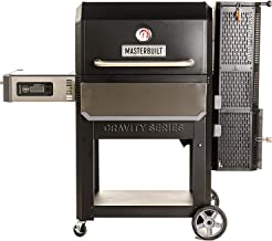 Masterbuilt MB20041220 Gravity Series 1050 XL Digital Charcoal Grill + Smoker, Black