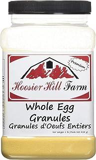 Hoosier Hill Farm Whole Egg Granules, All-natural, 100% real eggs, 1 lb.