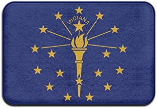 Indiana Flag Doormats Anti-slip House Garden Gate Carpet Door Mat Floor Pads