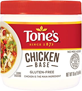 Tone's Chicken Base (16 oz. jar) (pack of 6)