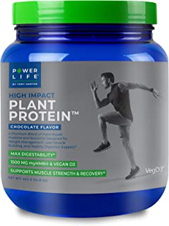 Tony Horton PowerLife® High Impact Plant Protein, Chocolate Flavor 15 Servings