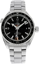 Omega Seamaster Planet Ocean GMT Black Dial Steel Mens Watch 23230442201001