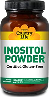 Country Life Inositol Powder, 2-Ounce